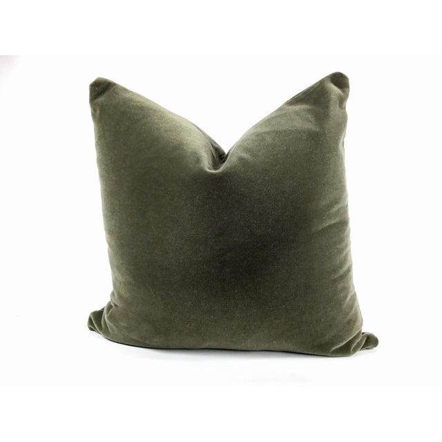 Not Yet Made - Made To Order Art Deco Two-Sided Designer Mohair Pillows - a Pair For Sale - Image 5 of 6