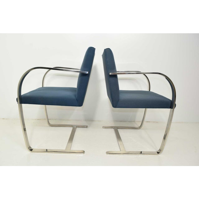 Mid-Century Modern Brno Chairs by Gordon International - A Pair For Sale - Image 3 of 6