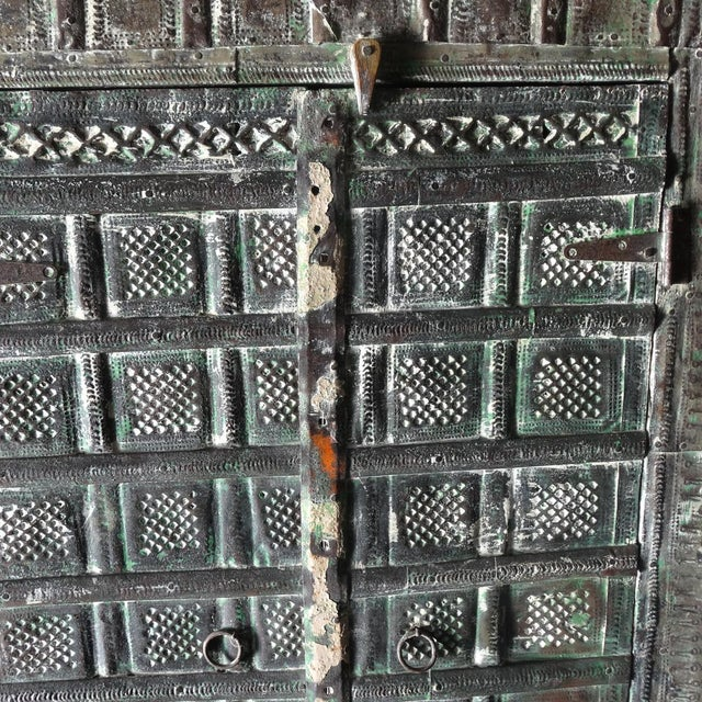 Colonial Metal Work Storage Cabinet - Image 2 of 6