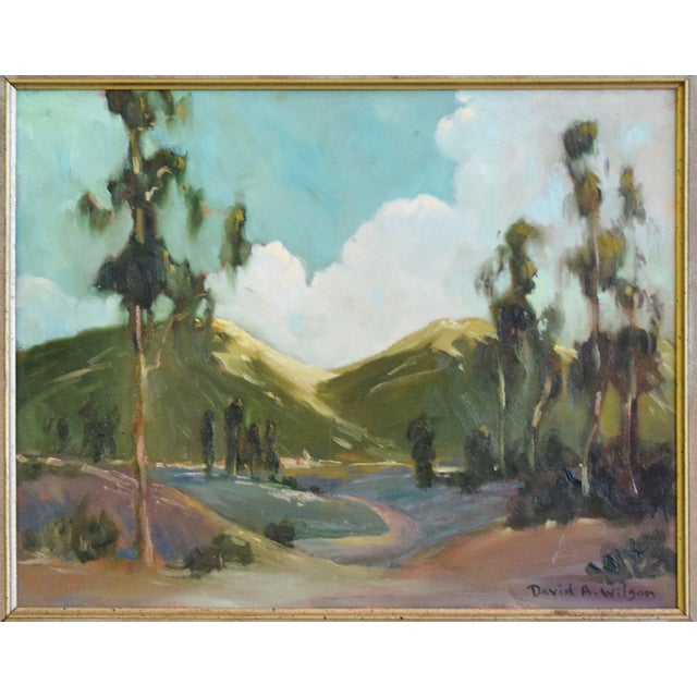 David A. Wilson Plein Air California Landscape Oil Painting For Sale - Image 4 of 10