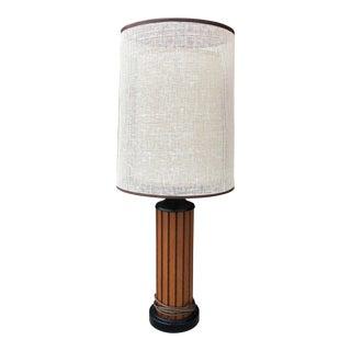 Vintage Gruvwood Table Lamp by Hans Wegner For Sale
