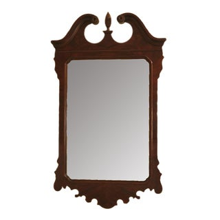 Drexel Heritage Chippendale Mahogany Mirror For Sale