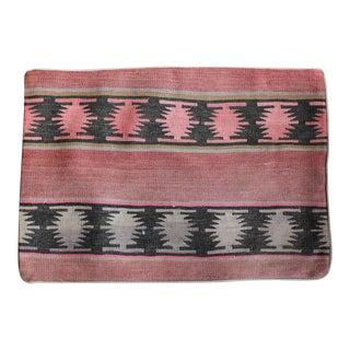 Vintage 1960s Turkish Kilim Pillow Cover For Sale