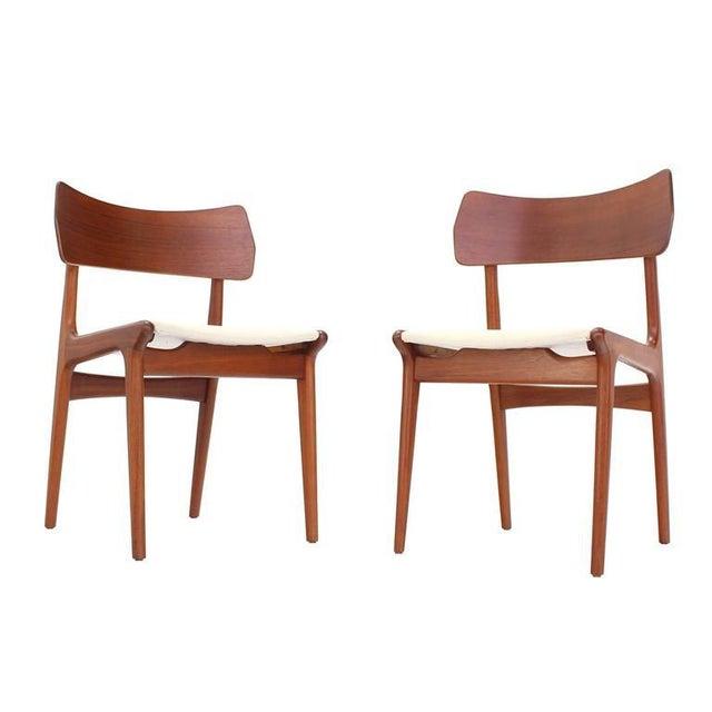 Excellent Danish Mid Century Modern Dining Chairs Set Of 4 Short Links Chair Design For Home Short Linksinfo