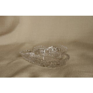Vintage Heart-Shaped Lead Crystal Ashtray/Trinket Tray Preview