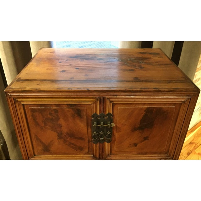 Antique Chinese 2 Piece Dragon Cabinet - Image 5 of 7