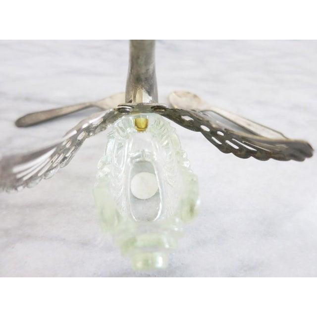 Silver Vintage Godinger Swans Salt Well - Set of 4 For Sale - Image 8 of 10