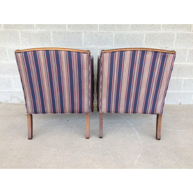 Southwood Mahogany Accent Chairs - a Pair For Sale - Image 4 of 11