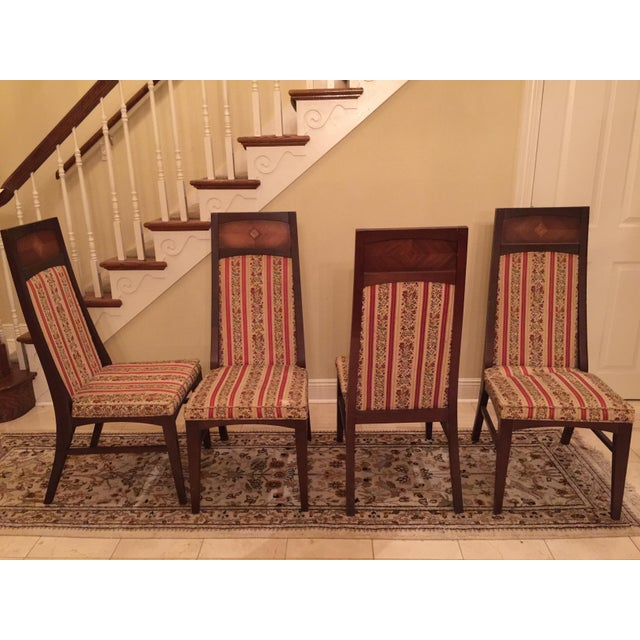 Michael Van Beuren Dining Chairs- Set of 4 - Image 3 of 5