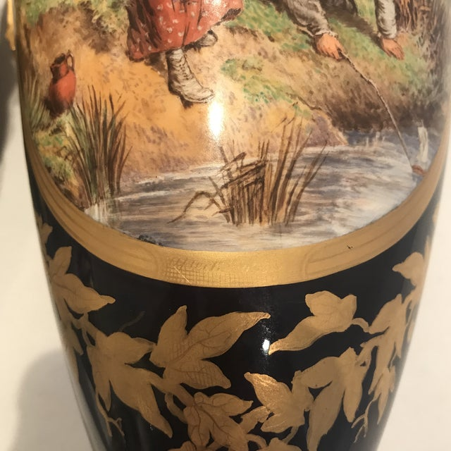 19th Century Royal Worcester Vases - a Pair For Sale - Image 12 of 13