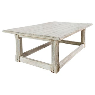 Rustic Farmhouse Coffee Table For Sale