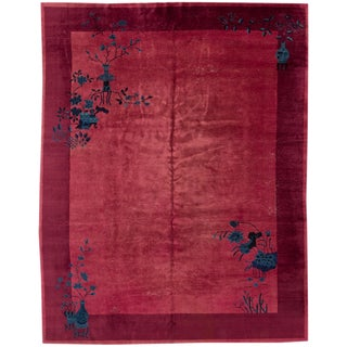"Apadana Chinese Art Deco Rug - 9' X 11'4"" For Sale"