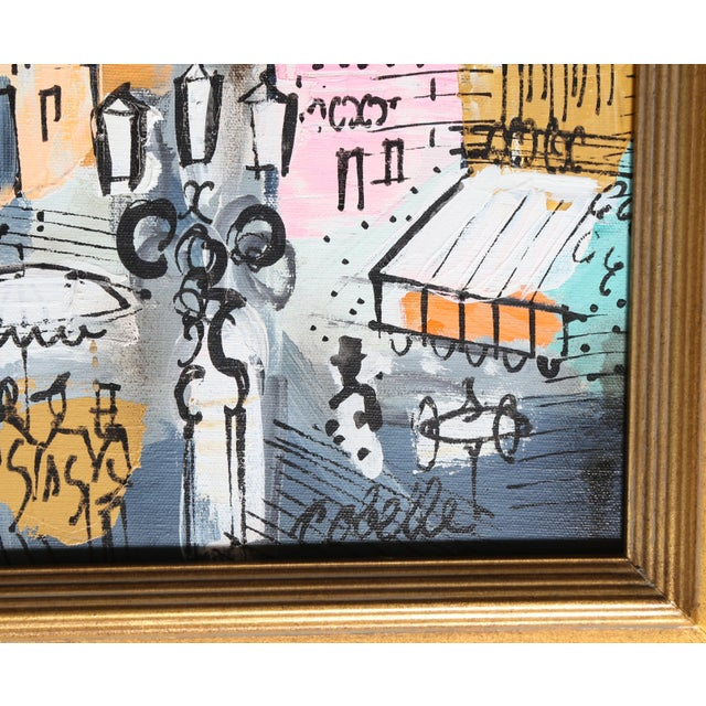 Artist: Charles Cobelle, French (1902 - 1994) Title: View of Paris 18 Year: circa 1958 Medium: Acrylic on Canvas, signed...