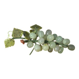 Late 20th Century Vintage Natural Stone Grape Cluster For Sale