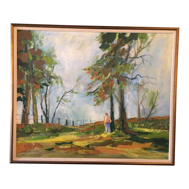 Spring Pasture by R. Vick For Sale