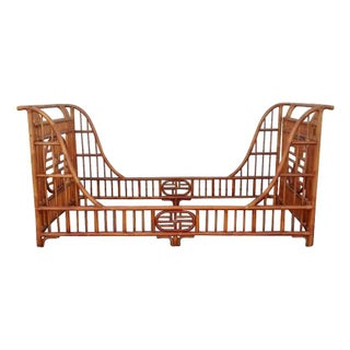 Chinoiserie Rattan Twin Daybed For Sale
