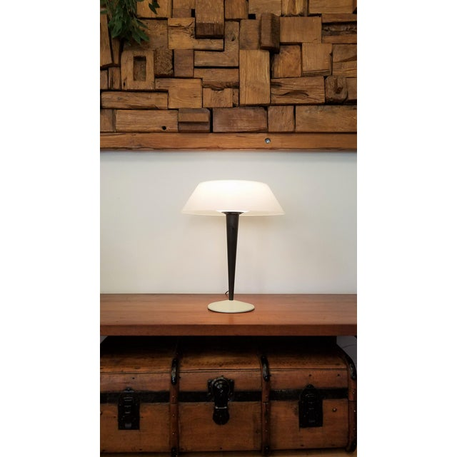 1960s Rewired Gerald Thurston Table Lamp for Lightolier For Sale - Image 12 of 13