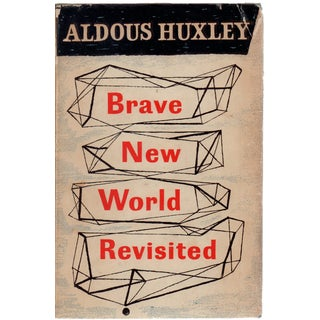 Brave New World Revisited by Aldous Huxley For Sale