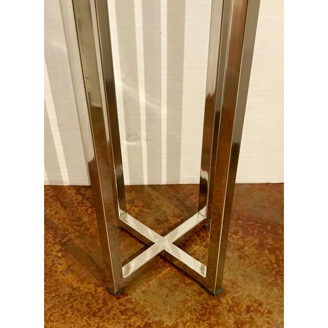 Interlude Home Contemporary Interlude Home Argo Square Drinks Table For Sale - Image 4 of 5