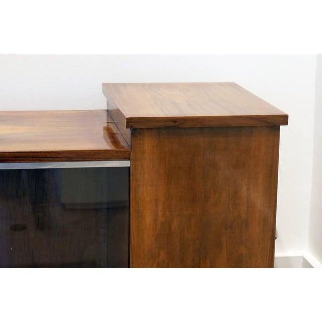 Art Deco Walnut Cabinet - Image 3 of 10