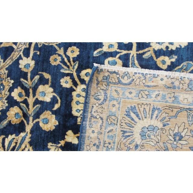 """Antique Persian Laver Kerman Carpet, 8'5"""" X 11'7"""" For Sale - Image 4 of 9"""