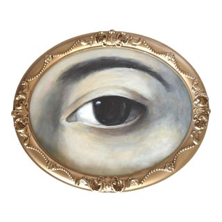 Contemporary Lover's Eye Painting For Sale