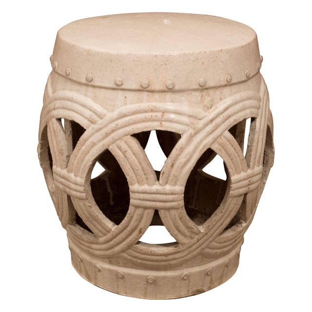A Chinese Ceramic Garden Stool For Sale - Image 9 of 9