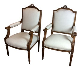 Image of Shabby Chic Office Chairs