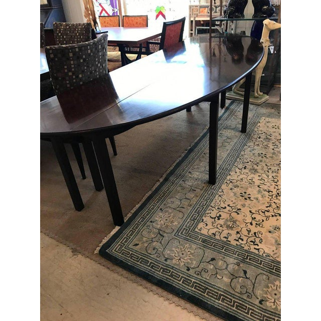 Mahogany Georgian Style Gate Leg Dining Table For Sale - Image 9 of 10