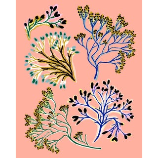 Seaweed Mini Giclee Print by Sarah Gordon For Sale