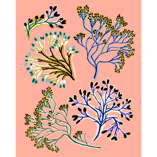 Seaweed Mini Giclee Print by Sarah Gordon For Sale