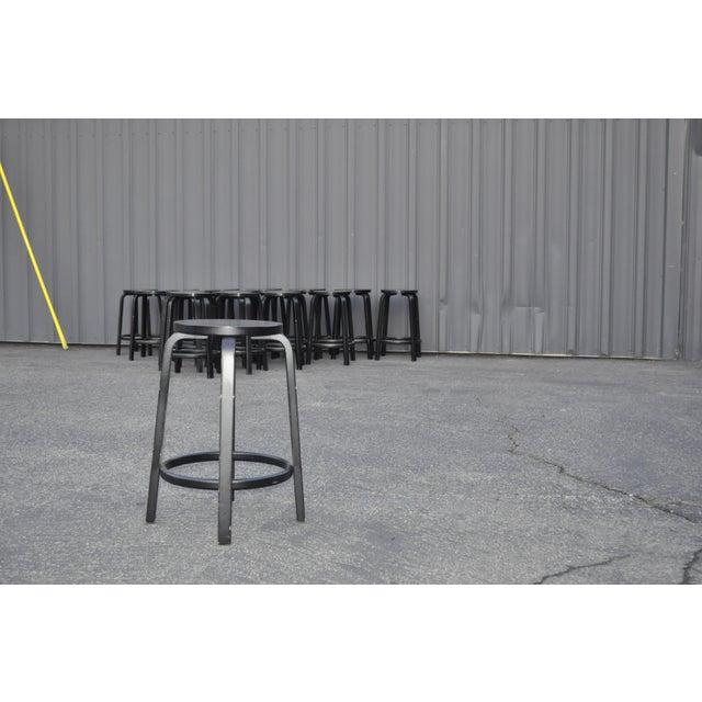 Danish Modern Alvar Aalto for Artek Stools For Sale - Image 3 of 7