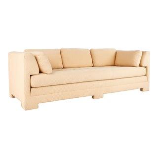 Interior Crafts Mid Century Parsons Sofa For Sale