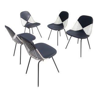 Mid-Century Herman Miller Ames Chairs - Set of 5 For Sale