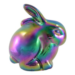 Opalescent Glass Rabbit