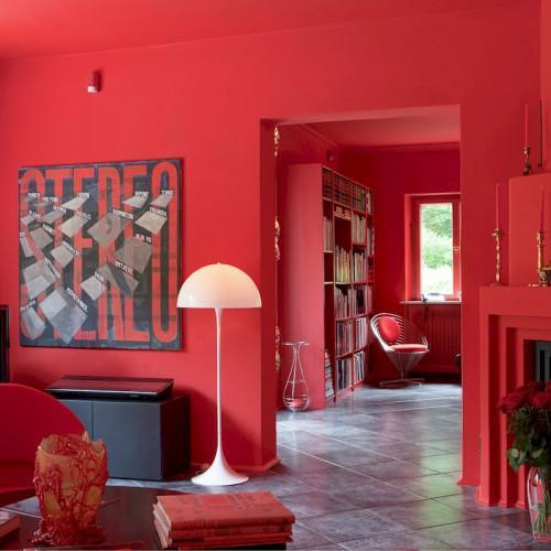 Verner Panton Panthella Floor Lamp For Sale - Image 11 of 12