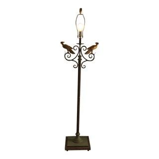 Modern Metal Gold Floor Lamp For Sale