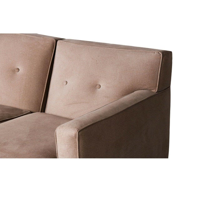 Rowe Furniture Sectional Sofa With Chaise For Sale In Baltimore - Image 6 of 12