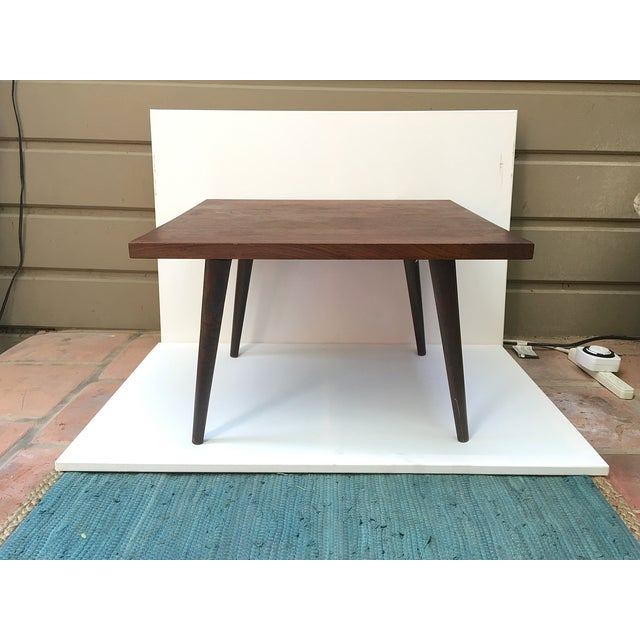 Mid-Century Modern Rosewood Side Table - Image 2 of 4
