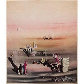 1947 Yves Tangy La Lumiere De l'Ombre Lithograph For Sale
