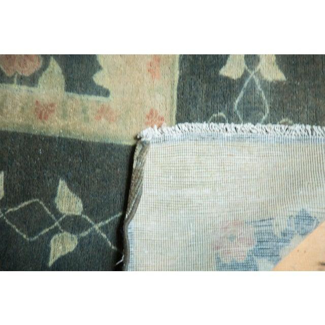 """Vintage Indo Donegal Carpet - 8'8"""" x 11'9"""" - Image 8 of 9"""