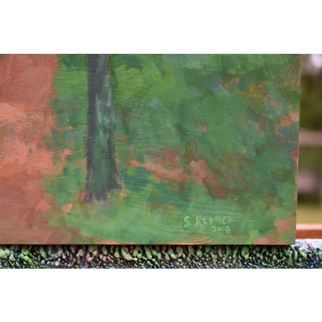 """Stephen Remick """"Back Yard Path"""", Contemporary Painting by Stephen Remick For Sale - Image 4 of 9"""