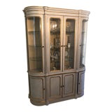 Image of John Widdlcomb Italian Style Hand Painted Showcase Bookcase For Sale