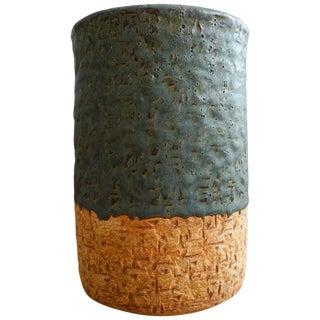 1950s Hal Fromhold California Studio Pottery Vase For Sale