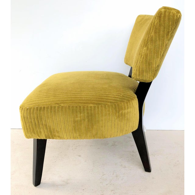Mid-Century Modern Lee Industries Chairs- A Pair For Sale - Image 3 of 12