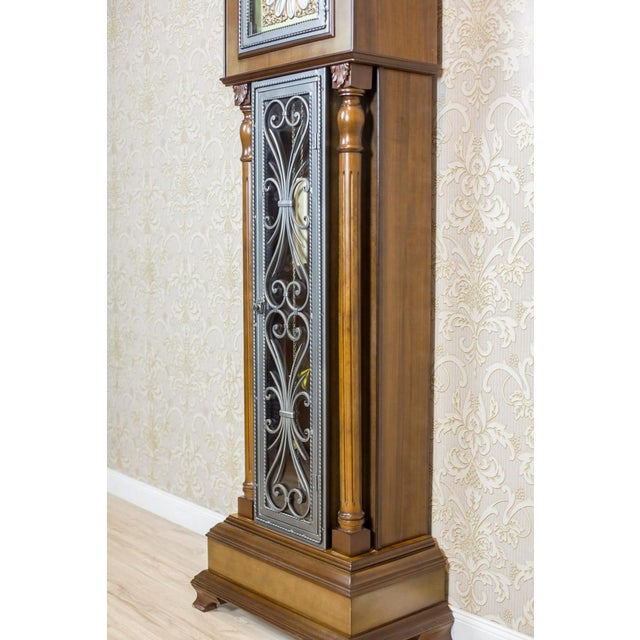 20th Century Tempus Fugit Grandfather Clock with a Chime For Sale - Image 10 of 13
