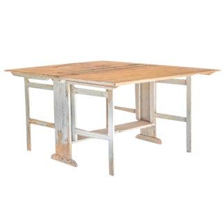 Swedish Slagbord Table For Sale