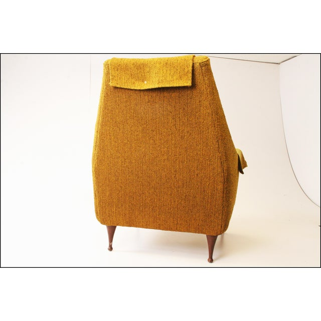 Mid Century Modern Upholstered Lounge Chair by Flexsteel - Image 8 of 11