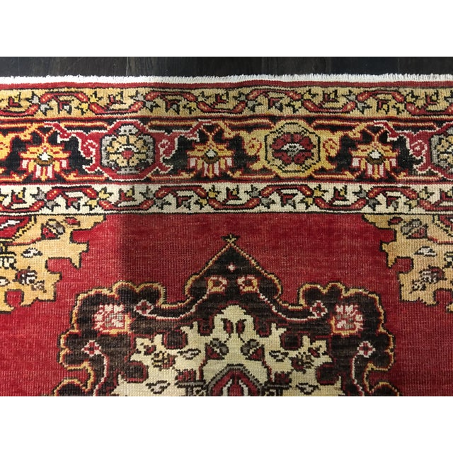 Turkish Oushak Runner - 5' x 13' - Image 9 of 10