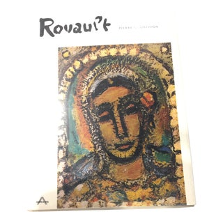 Book - White Linen 1960's Vintage Pierre Courthion Georges Rouault Book For Sale